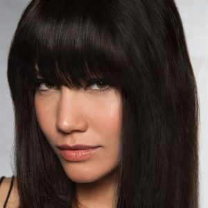 Clip-In Human Hair Bang
