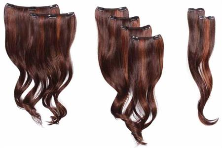 8-Piece Wavy Extension Kit