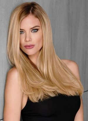 10-Piece Remy Human Hair Wig Extensions Kit 1