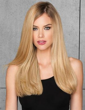 10-Piece Straight Human Hair Wig Extension Kit 1